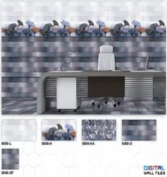 6000 (L, H, HA, D, DF) Hexa Ceramic Digital Wall Tiles