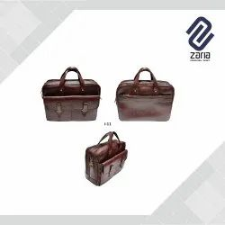 Promotional Solder Leather Bag