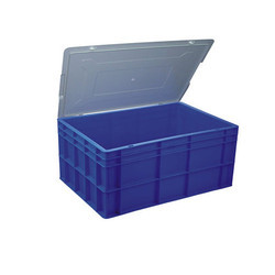 Plastic Blue Jumbo Crates