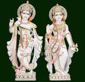 Radha Krishna Statue For Temple