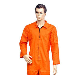 Work Wear Cotton Dangri Orange Suits