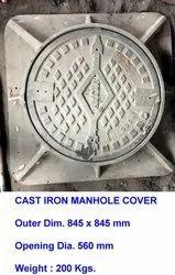 Cast Iron Manhole Cover Heavy Duty