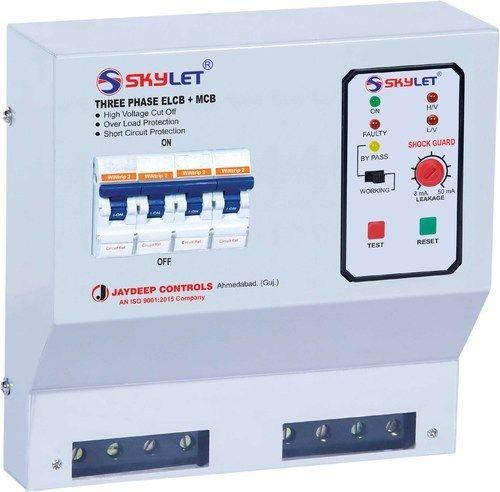 415v Three Phase ELCB (EL MCB, Rs 3675 /piece, Jaydeep Controls | ID ...