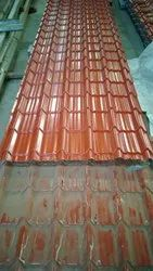 Tile Profile Brick Red