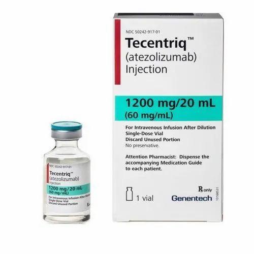 Tecentriq Genentech Atezolizumab Injection, Packaging Size: 20ml ...