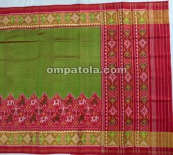 Pure Silk Handloom Patola Saree