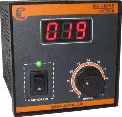 Variable Speed Thyristor DC Motor Drive-PMDC-24V-60W-3A-96x96-Panel Mount-Digital