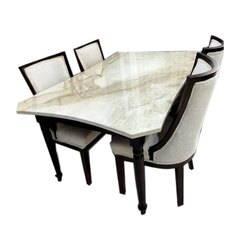 Wood House Wooden Dining Table Size 42 X 75 Inch Table Top Size Rs 85000 Piece Id 22447833048