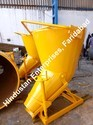 Tower Crane Construction Concrete Bucket