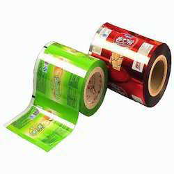 Printed Laminated Plastic Rolls Stock Film