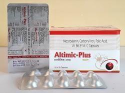 Mecobalamine Carbonyl Folic Acid Vitamin C Capsules