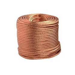Copper Flexible Braided Strips Ropes