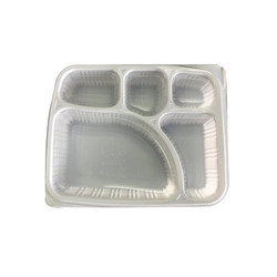 Disposable Food Tray : 5 CP