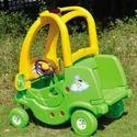 Plastic Playground & Indoor Patrol Cars