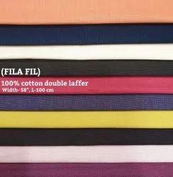 Fila Fil 100% Cotton Double Laffer Shirting Fabrics