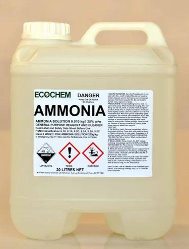 Liquid Chemical - Liquor Ammonia Wholesale Trader from Chennai