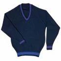 Plain Full Sleeve School Uniform Sweater