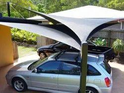 PVC Car Shade Sail