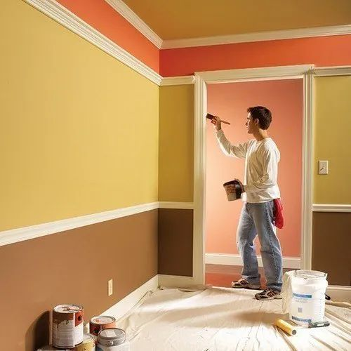 Interior Wall Painting Service, Location Preference: Local Area, Home Wall  Painting, | ID: 21470946148