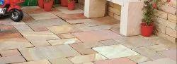 Commercial Building Kota Stone Flooring Service