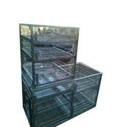 Stainless Steel Rack, Coated