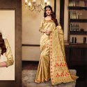 Temple Border Fancy Saree