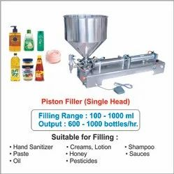 Chocolate Paste Filling Machine