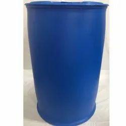 Blue Plastic 210 L L-Ring Barrel Drum