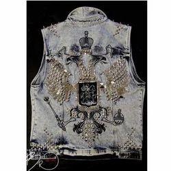 Shaams Medium And XL Denim Jacket