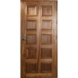 Exterior Finished Wooden Door, For Home