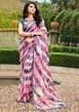 Georgette Printed Saree Blouse