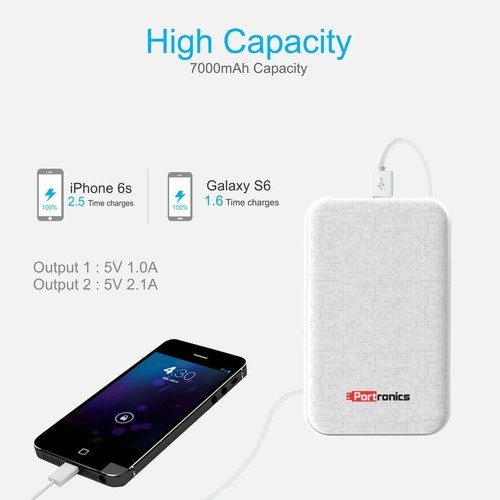 Samsung And Nokia Power Slice 7000Mah, SS Enterprises | ID
