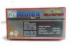 Annex 12.8 Ah Batteries, Warranty: 13 Months