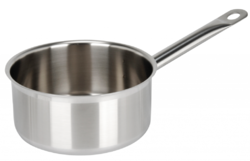 Stainless Steel Steel Saucepan, For Home, Hotel/restaurant