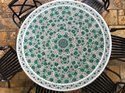 Marble Malachite Inlay Table Tops