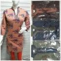 FULL SELEVES COTTON KURTI