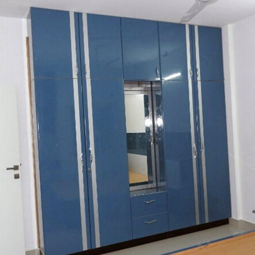 High Gloss Bedroom Cupboards Lemon Bedroom Accessories Toddler Bedroom Curtains Black And White Bedroom Cupboard Designs: Blue Bedroom Wardrobe, Rs 900 /square Feet, Immortal