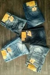 Faded Denim Mens Jeans