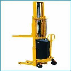 Semi Electric Stacker Machine
