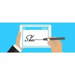 Class 3 Newly Register Digital Signature Certification, Digital Signature Verification