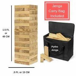 KD Jenga Giant Big Size Natural Pine Wood Blocks
