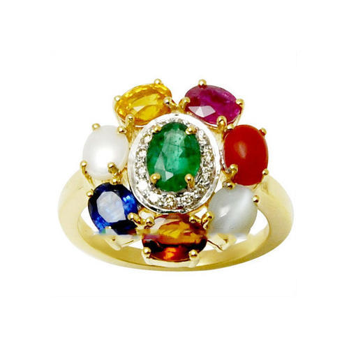 Raashiratan Birthstone Gold Ring