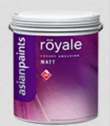 Asian Paints Asian Royale Matt Wall Paint, Packaging Type: Bucket