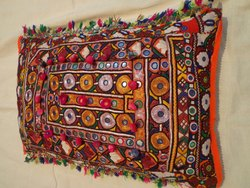 Antique Textiles Vintage Embroidery Pillow Cover Cushion Cover