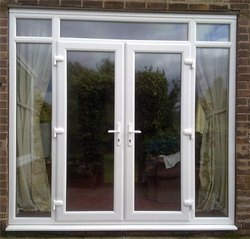 White Modern UPVC Door And Window, Size/Dimension: 5.8 X 6.5 Feet, Glass Thickness: 12 Mm
