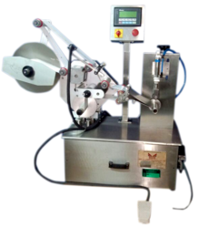 Manual Tube Labeling Machine