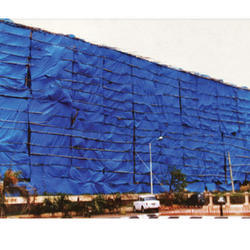 Calcutta Canvas Blue Construction Sites Tarpaulins, Thickness: 3 - 5 Mm