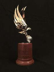 Bird Brass Metal Trophy