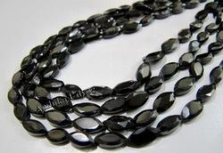 Black Spinel Marquise Beads