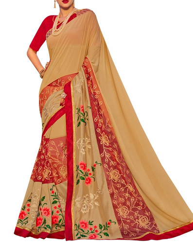 5240307d90971b Fancy Sarees - Simaaya Fancy Saree With Zari Work Retailer from Kolkata